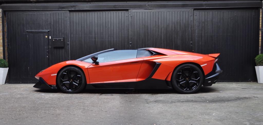 Lamborghini Aventador Car Concierge Service